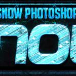 Снежный стиль для фотошопа