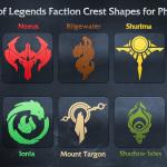 Фигуры игры Лига Легенд для фотошопа