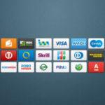 Иконки платежных систем для веб-сайта