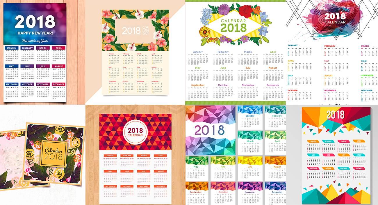 Скачать бесплатно шаблоны календарей для фотошопа