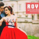 Свадебный экшен для фотошопа