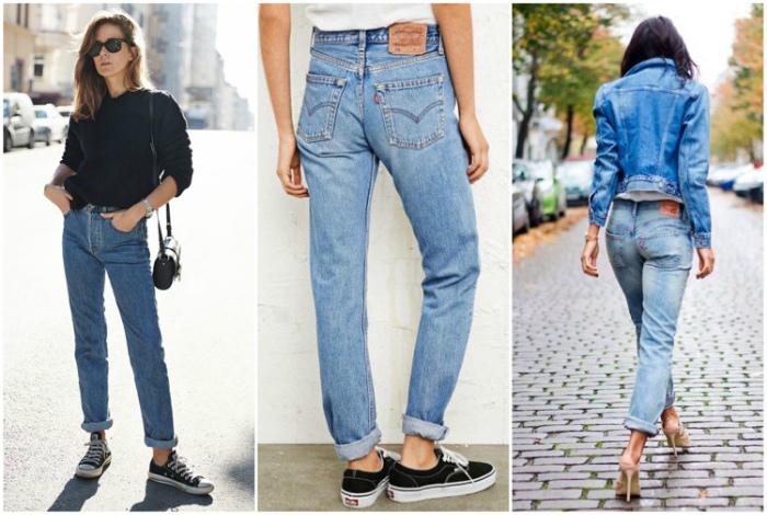 Подвернутые джинсы. | Фото: 7odezhek - LiveJournal.