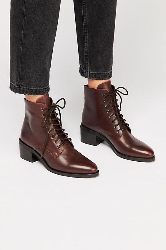 Ботильоны на шнуровке - самая модная модель обуви 2019-2020 года   Новости моды