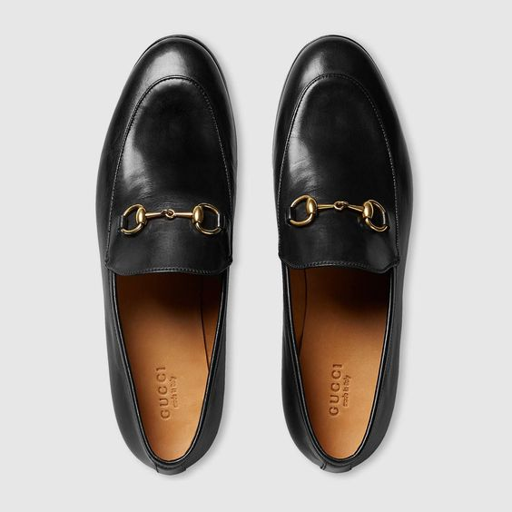 Gucci Gucci Jordaan leather loafer Detail 3