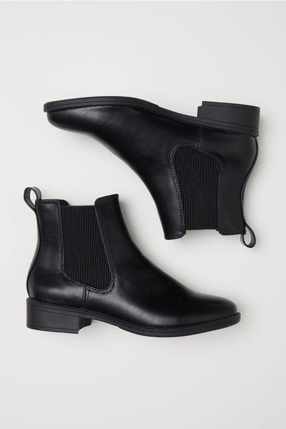チェルシーブーツ - ブラック - レディース   H&M JP 2
