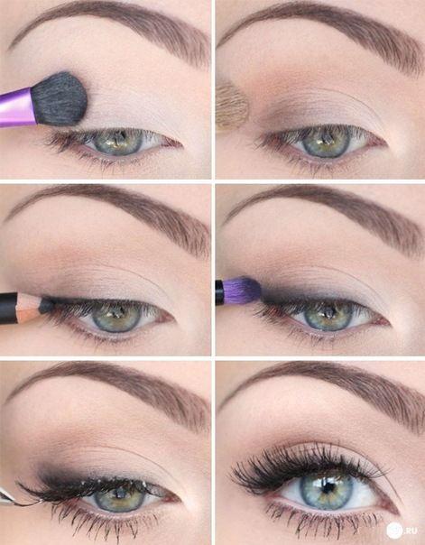 Дневной макияж | Идеи макияжа, Макияж для зеленых глаз, Макияж глаз