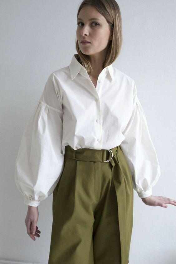 Модная рубашка- вещь, которая выдает хороший вкус | ladyline.me | Яндекс Дзен