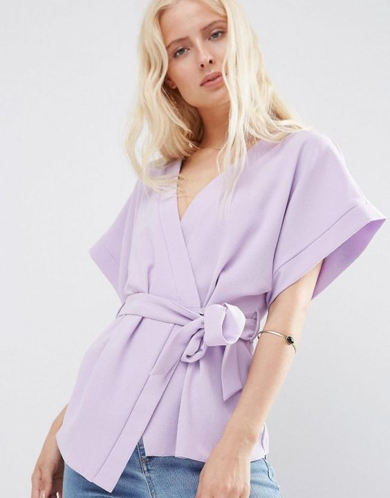 These 13 Wrap Tops Will Slay All Summer via Brit + Co