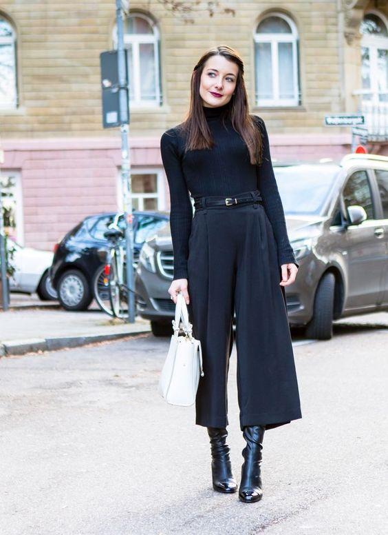 Как носить укороченные брюки осенью - Стильные заметки, блог о стиле и моде