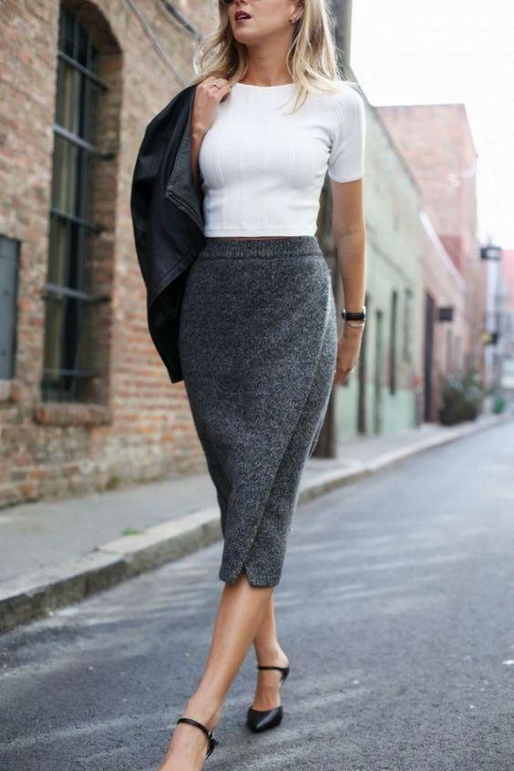 Вязаные юбки 2020: модели, которые придадут образу женственности, нежности и грациозности | Новости моды