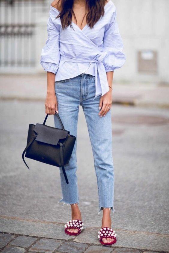 Простые образы с джинсами 1