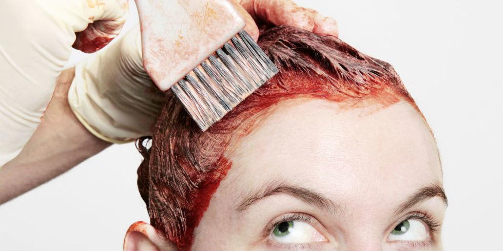 Как легко смыть краску для волос с кожи головы   Журнал Домашний очаг
