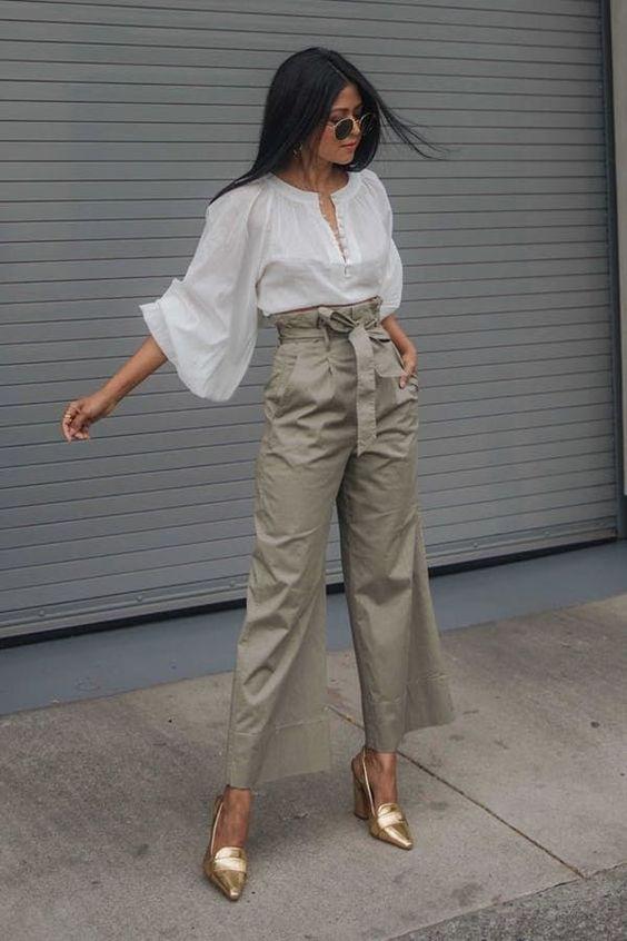 Самые модные штаны 2019: три стильных фасона   Новости моды