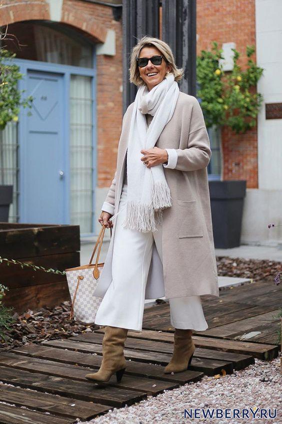 Модные образы в брюках для женщин за 50 от Margarita Argüelles - Икона стиля
