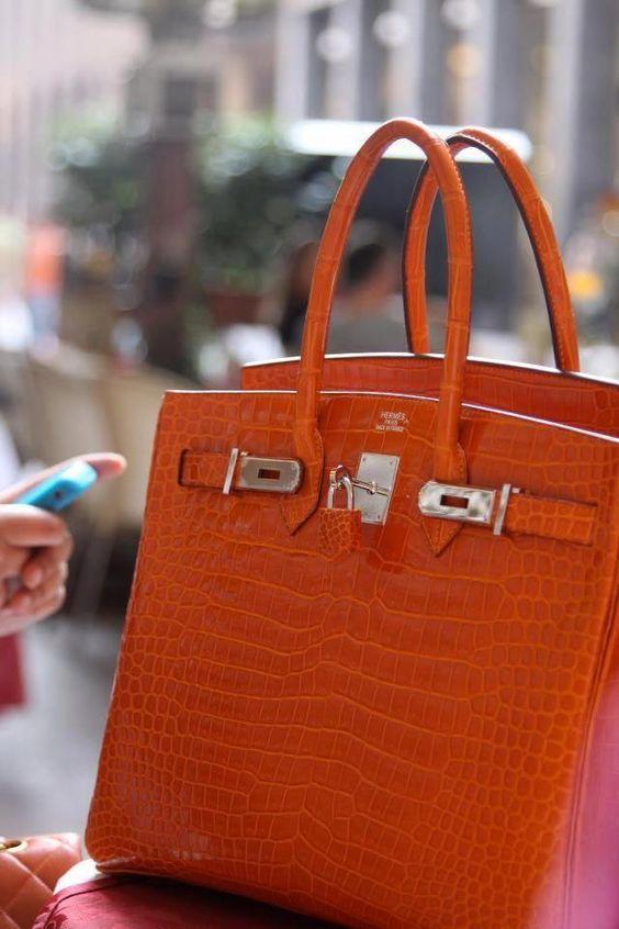 Hermes bag love the burnt orange color # Hermeshandbags #Designerhandbags #burnt #color #designerhandbags #hermes #hermeshandbags #orange #birkinbag
