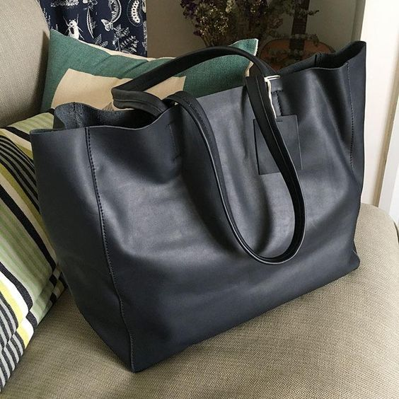 Stylish WOMENs LEATHER Tote Bag Totes Shoulder Purse FOR WOMEN