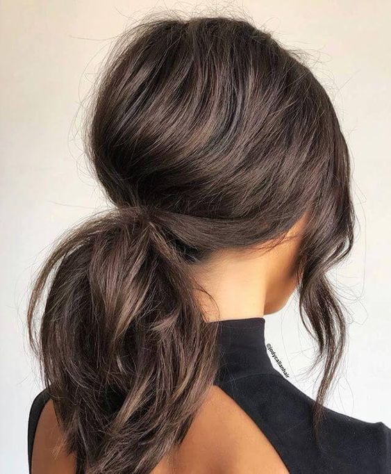 50 Gorgeous Ponytail Hairstyles to Update Your Updo - #ponytailhairstyles