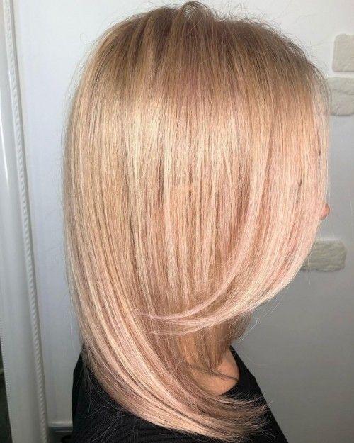 55 Long Hairstyles & Haircut Ideas #simple hairstyles #Hairstyles #Haircut Ideas #Hair Care #hair #Beauty