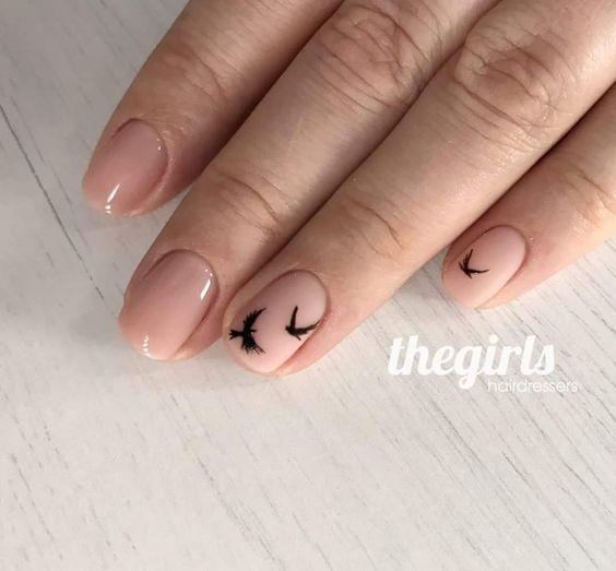 Потрясающе красивый маникюр на короткие ногти - 33 шикарных варианта! - О женском с вдохновением