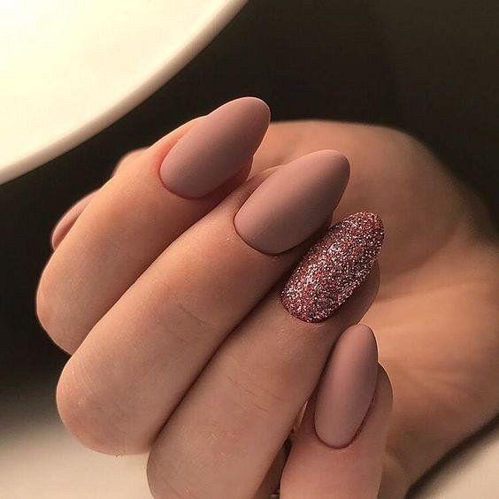 Матовые ногти - модный маникюр 2020