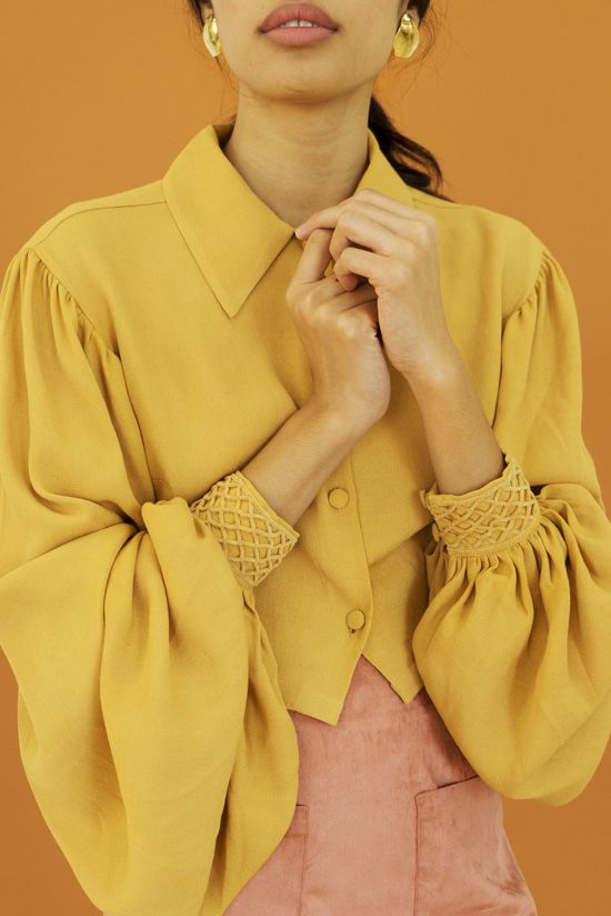I've been so enamored with Hannah's colors and shapes for her fall Hannah Kristina Metz collection that I decided to post them a bit early. Like previous collections, Hannah was inspire…
