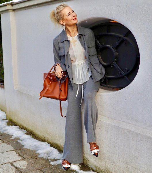 Как в 50+ носить тренды и выглядеть не хуже, чем 20-летние: личный пример   Новости моды #womensfashionover50bestmakeup