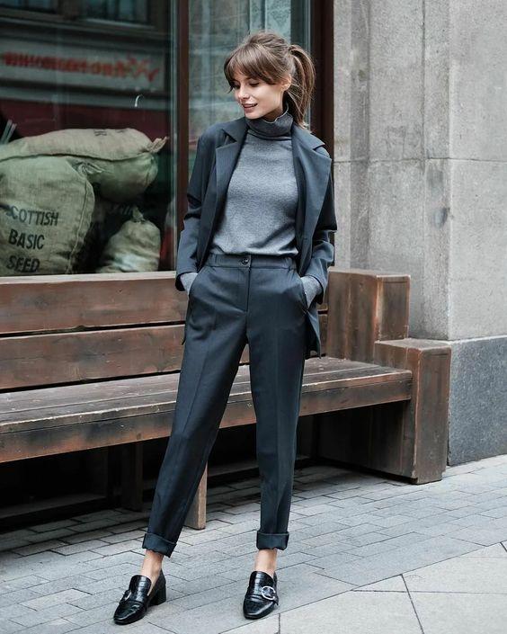 С чем носить укороченные брюки со стрелкой? | C чем носить? | Яндекс Дзен