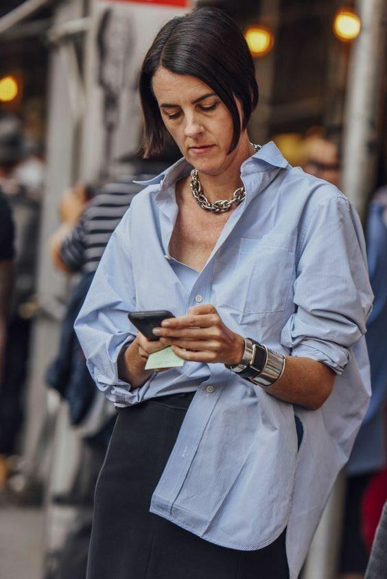 Модные образы, которые сделают женщину 50+ современной и стильной   ladyline.me   Яндекс Дзен