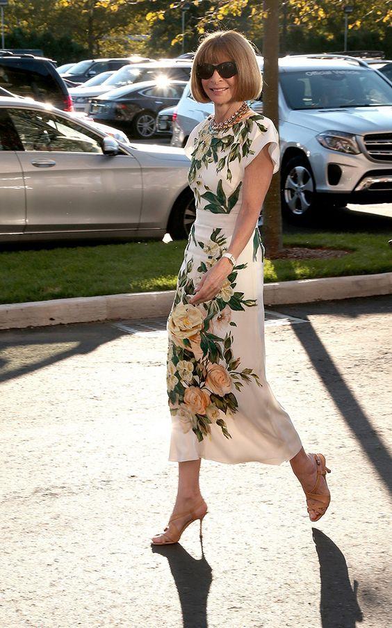 Анна Винтур в Нью-Йорке - мода, красота, украшения, новости, тренды, коллекции…