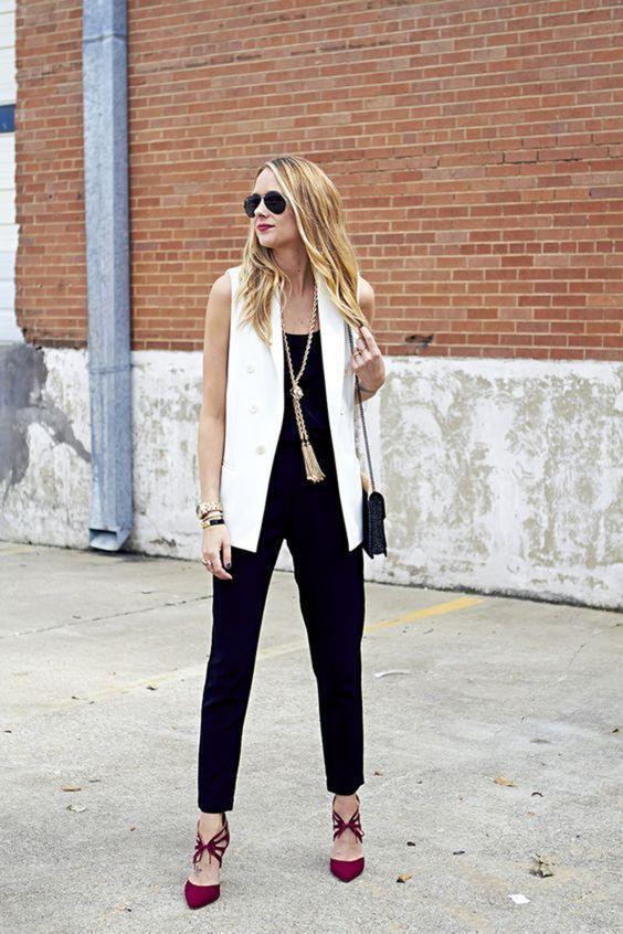Женская жилетка: 12 потрясающих решений для твоего идеального образа!   Новости моды
