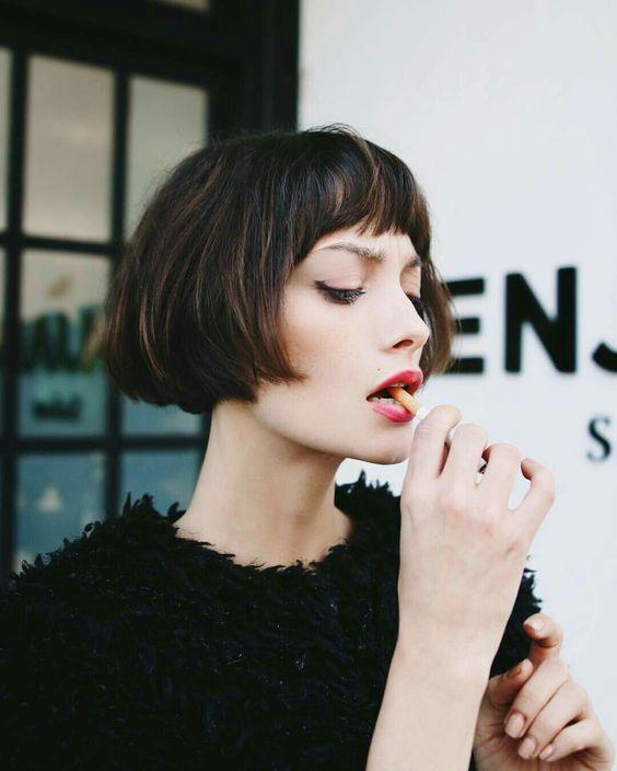 7 секретов для тонких волос от фэшн-блогеров (35 фото)