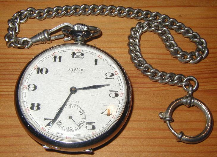 Механические часы — Википедия