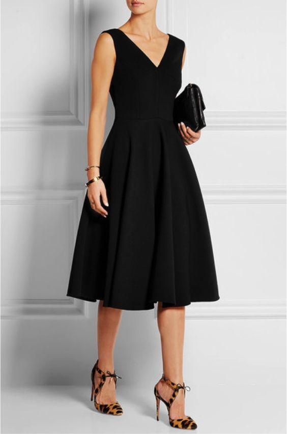Маленькое черное платье: выходной наряд на все времена - Икона стиля