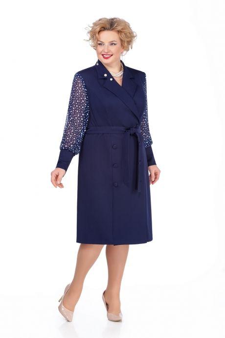 Новогодняя коллекция платьев для полных женщин белорусского бренда Pretty 2020 (70 фото)