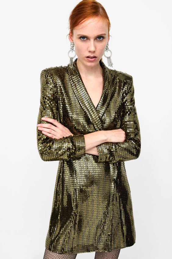 Image 4 of BLAZER DRESS from Zara