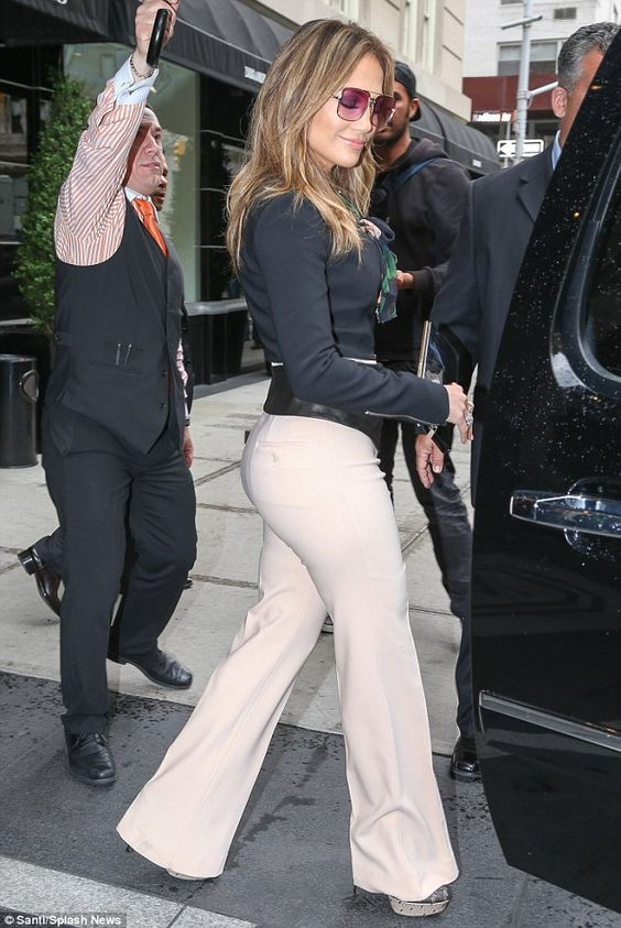 Just love everything about JLo and her style.