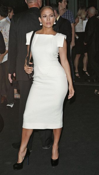 Jennifer Lopez...love the length of her dress