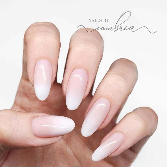 21 Elegant Baby Boomer Nail Designs You'll Love | StayGlam