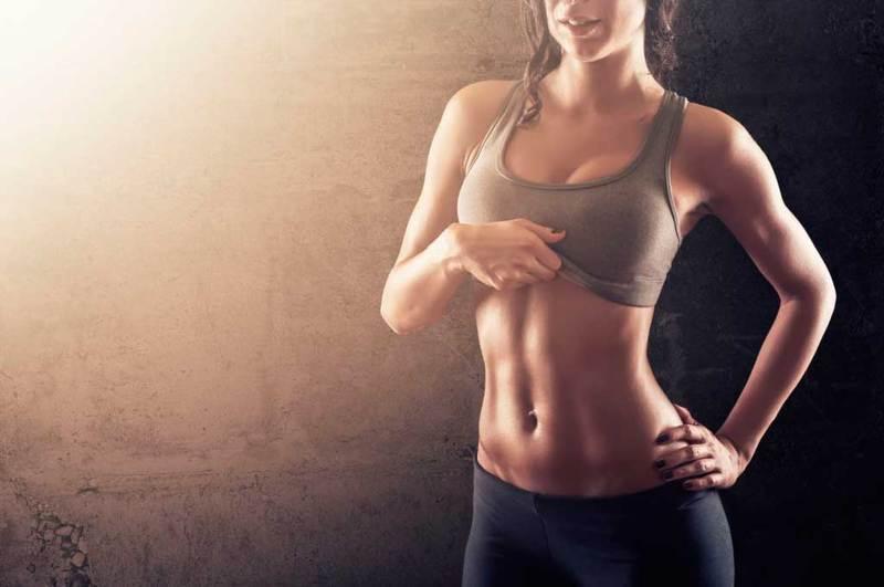 Как подтянуть живот в короткий срок? Всего 1 упражнение!