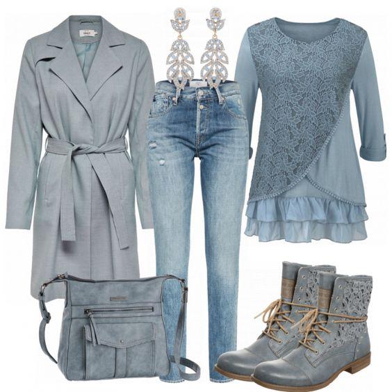 Freizeit Outfits: Eintoenig bei FrauenOutfits.de