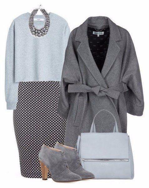 Универсальный тренд: 5 способов, как носить серый цвет зимой   Мода & стиль   Яндекс Дзен