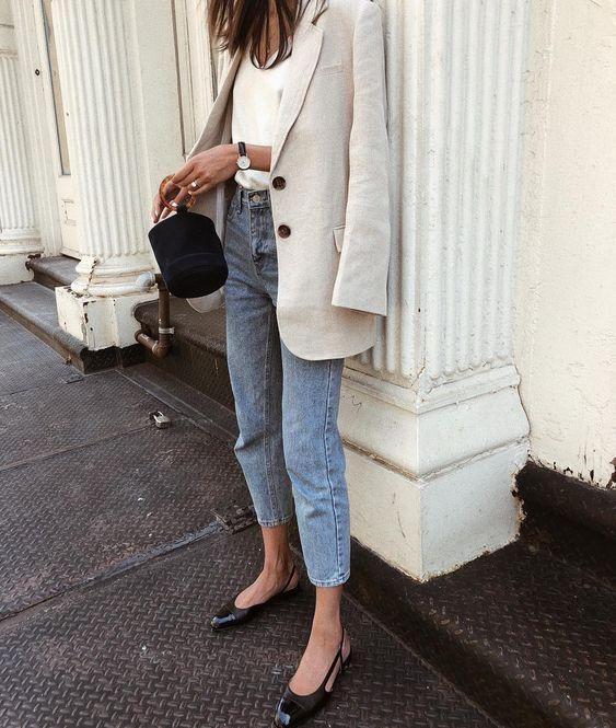 Элегантные образы в стиле casual на каждый день   Новости моды