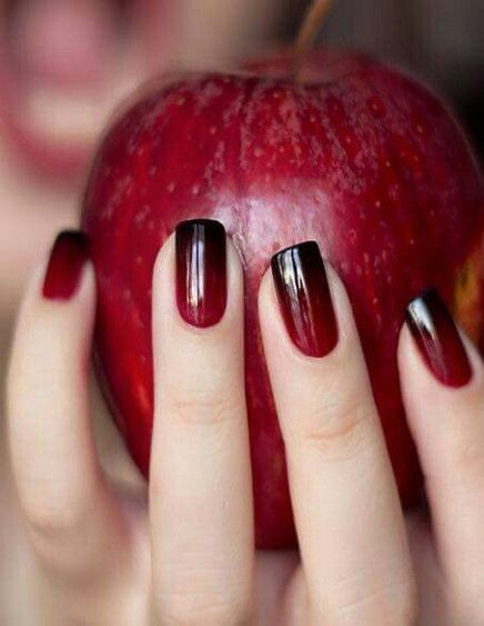 New Year Red Nail Styles To Inspire You 2020 simple and beautiful nail, red nail design, red fashion style, new year nails