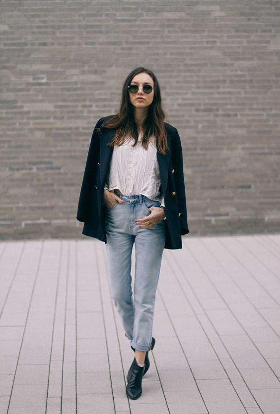 cool 50 Идей, с чем носить женские джинсы-бойфренды (фото)