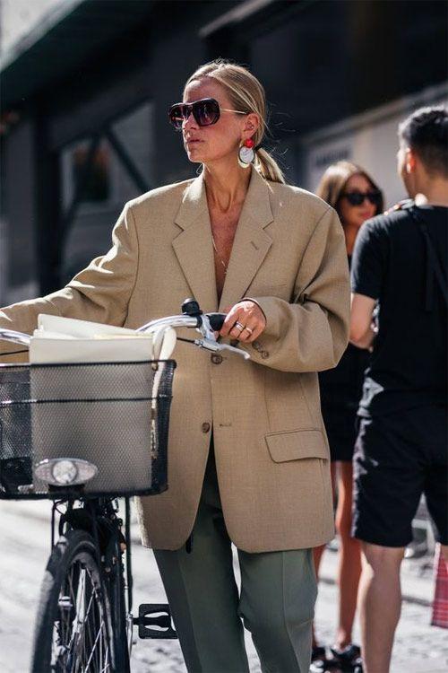 Жакет цвета беж #oversized #oversizedouterwear #streetstyle #streetstylefashion