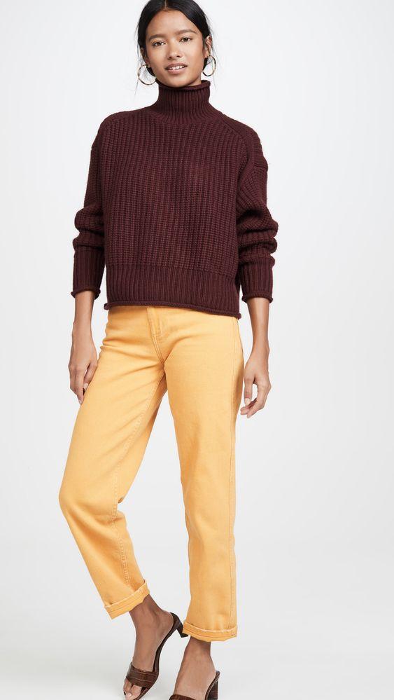 Autumn Cashmere Объемный свитер из толстого кашемира   SHOPBOP