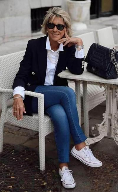 Moda anti-idade: Jeans combina com... tudo   Classic fashion looks, Stylish clothes for women, Fashion #women #covetme #sponsored