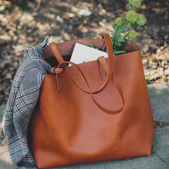 Handbags, Tote Bag, Leather Chic Purses JQ99