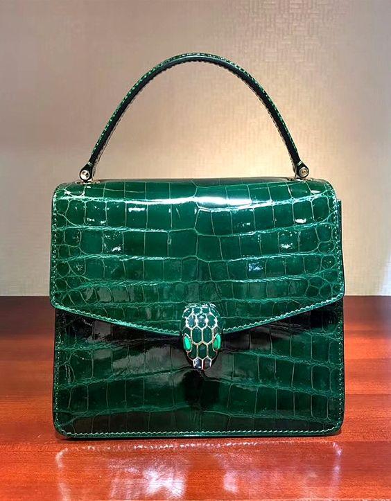 Alligator Skin Shoulder Handbags Crossbody Bags