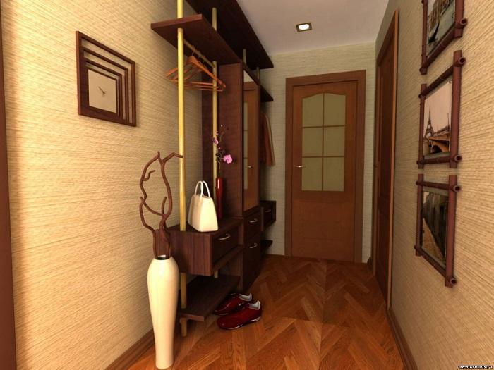 Расстановка мебели вдоль одной стены обеспечивает удобство передвижения. / Фото: sdelai-lestnicu.ru